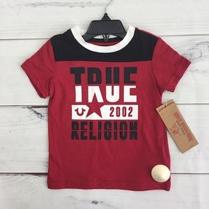 True Religion Boy 02 Tee Size 24M